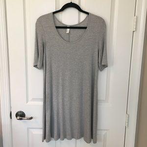 Grey American Apparel Flowy Dress